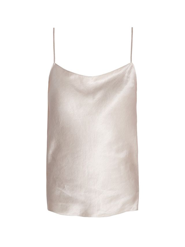The Row Silk Linen Camisole