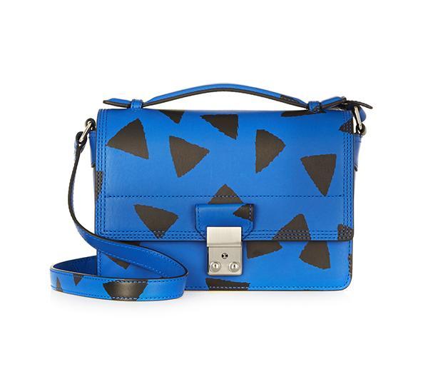 3.1 Phillip Lim The Pashli Mini Messenger Printed Leather Shoulder Bag