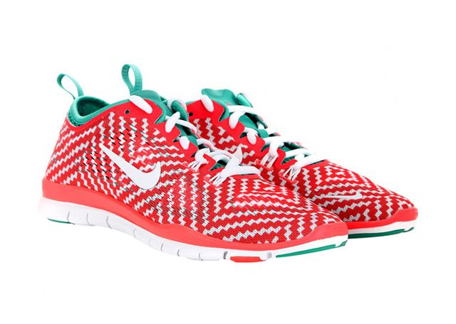 Nike Free 5.0 TR Fit 4 Printed Mesh Sneakers
