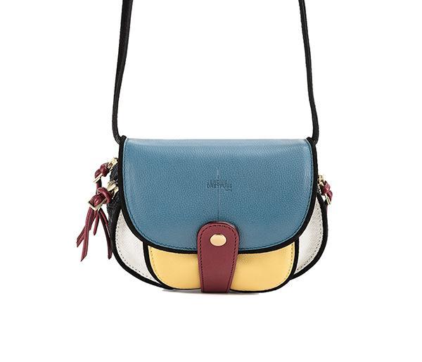 Jerome Dreyfuss Momo Mondrian Mini Bag
