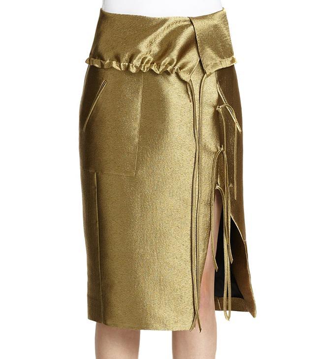 Altuzarra Silk Obi Skirt