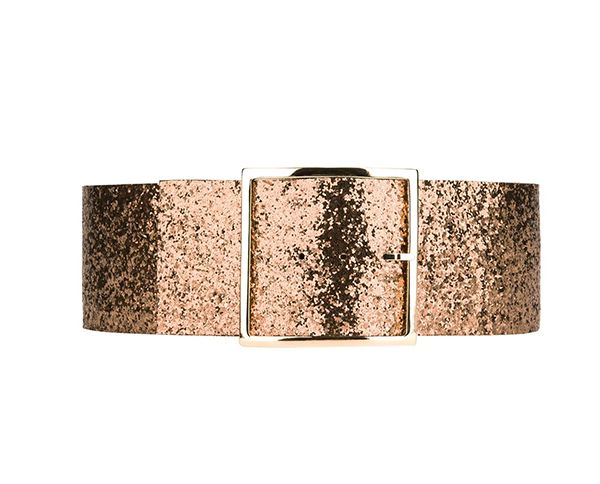 Maison Boinet Wide-Glittered Belt