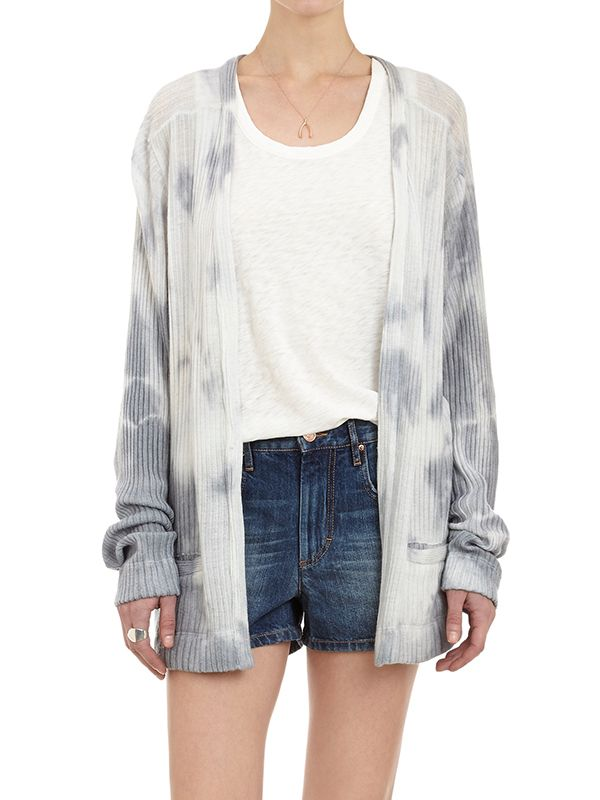 The Elder Statesman Tie-Dye Cardigan