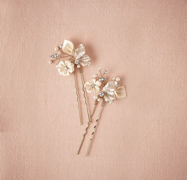 BHLDN Petite Flora Hairpins