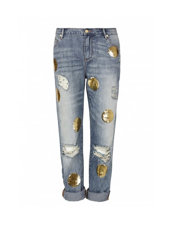 sass & bide Out of Sight Distressed Boyfriend Jean