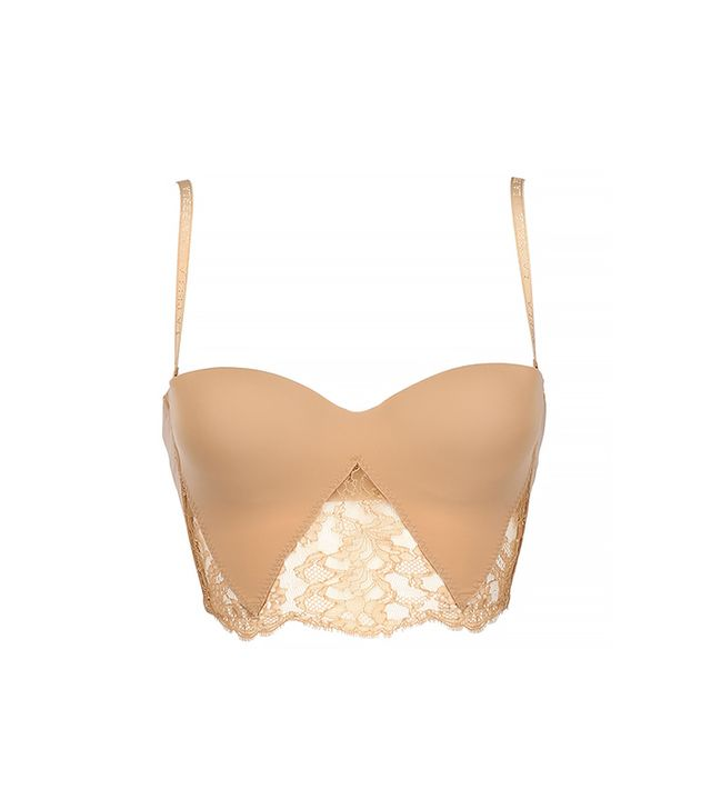 La Perla Lace and Lycra Bustier