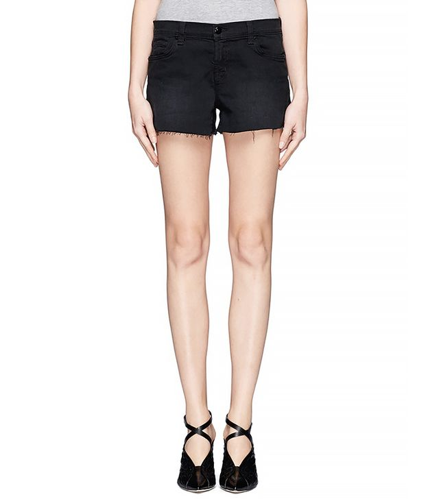 J Brand Raw Edged Denim Shorts