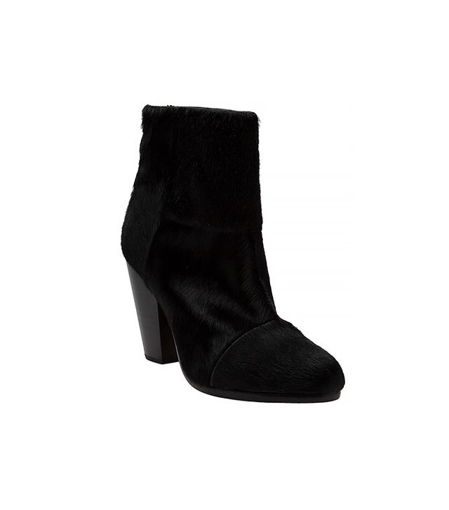 Rag & Bone Newbury Boot in Black Pony