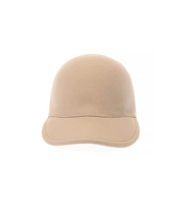 Stella McCartney Felt-Wool Baseball Cap