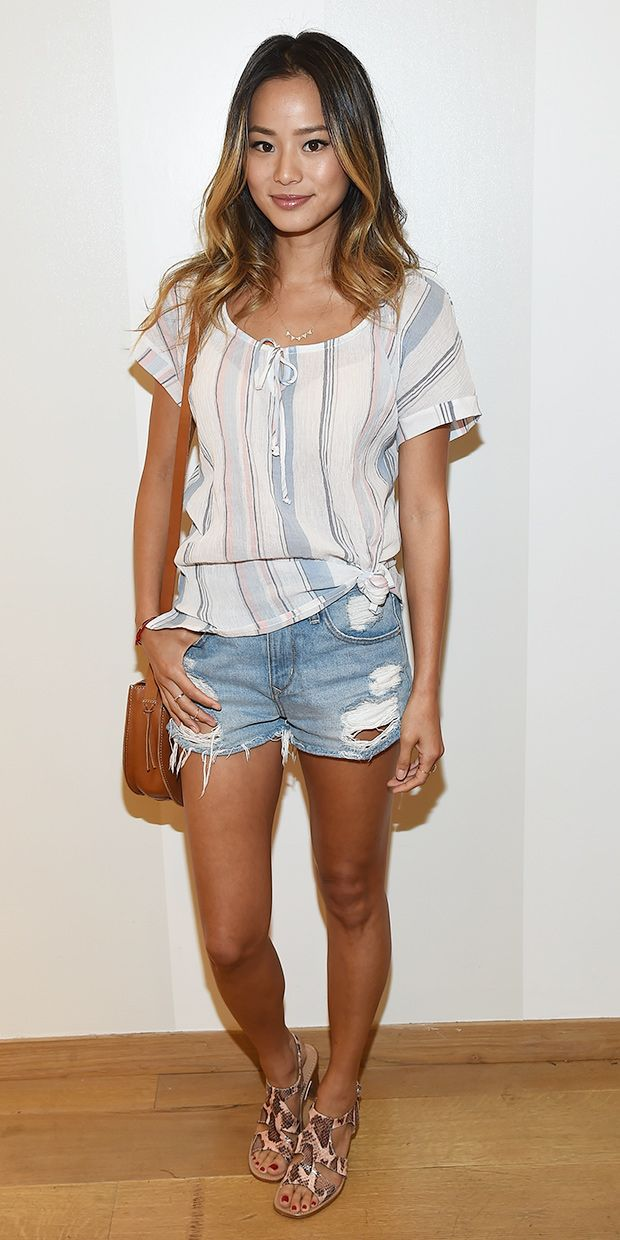 The Cool Way To Wear Your Denim Cutoffs This Weekend