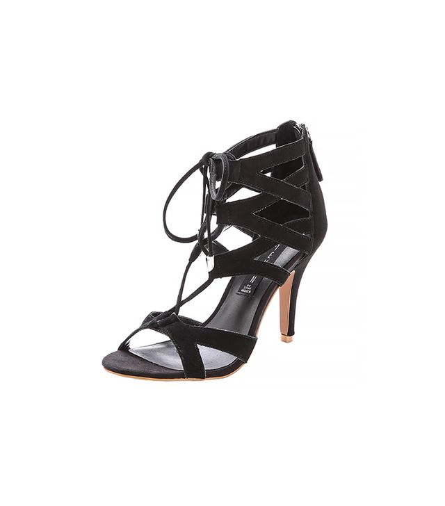Steven Gingir Lace Up Sandals