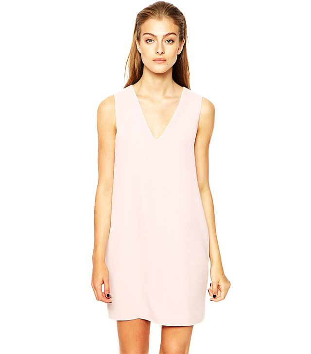 Mango Crepe Sleeveless Dress