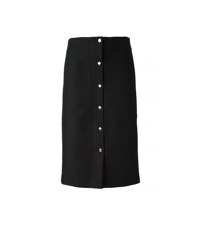 Carven Button-Up Skirt