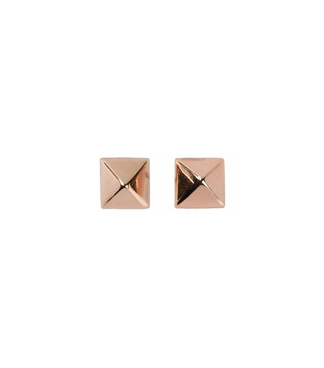 Eddie Borgo Pyramid Stud Earrings