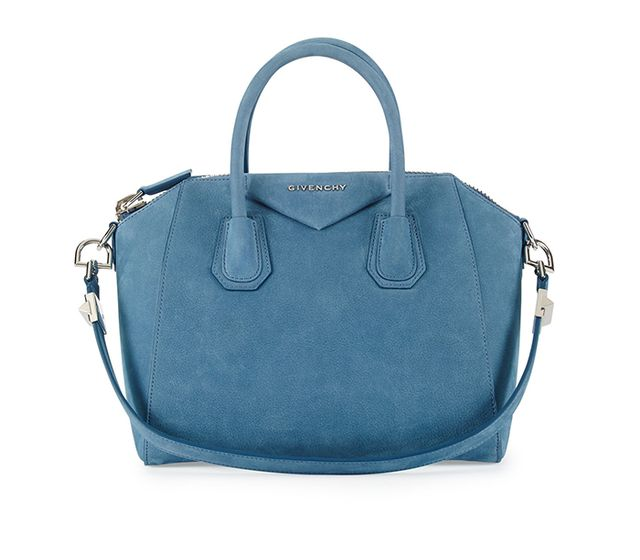 Givenchy Antigona Small Nubuck Satchel Bag
