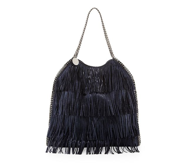 Stella McCartney Falabella Large Fringe Tote Bag