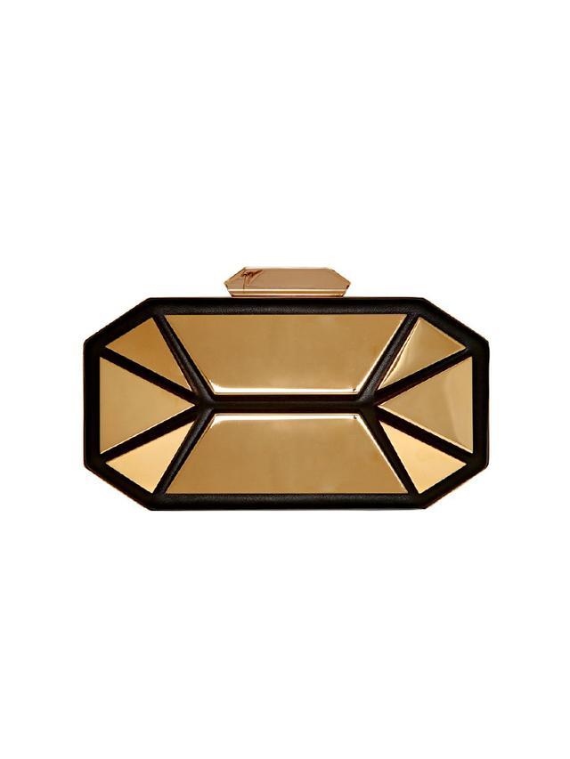 Giuseppe Zanotti Jewels Nappa Leather Clutch