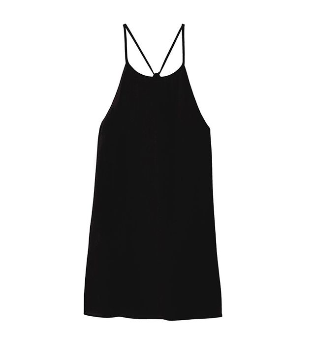 Tibi Silk Halter Tank Top
