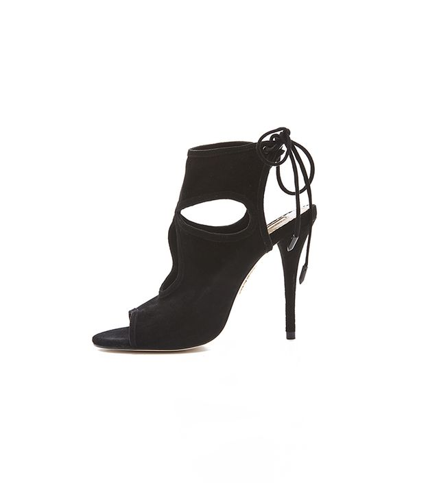 Aquazurra Sexy Thing Cutout Booties