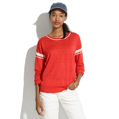 Madewell Stripe-Inset Pullover