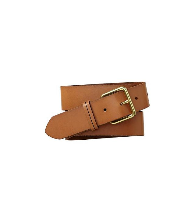 Gap Wide Leather Belt