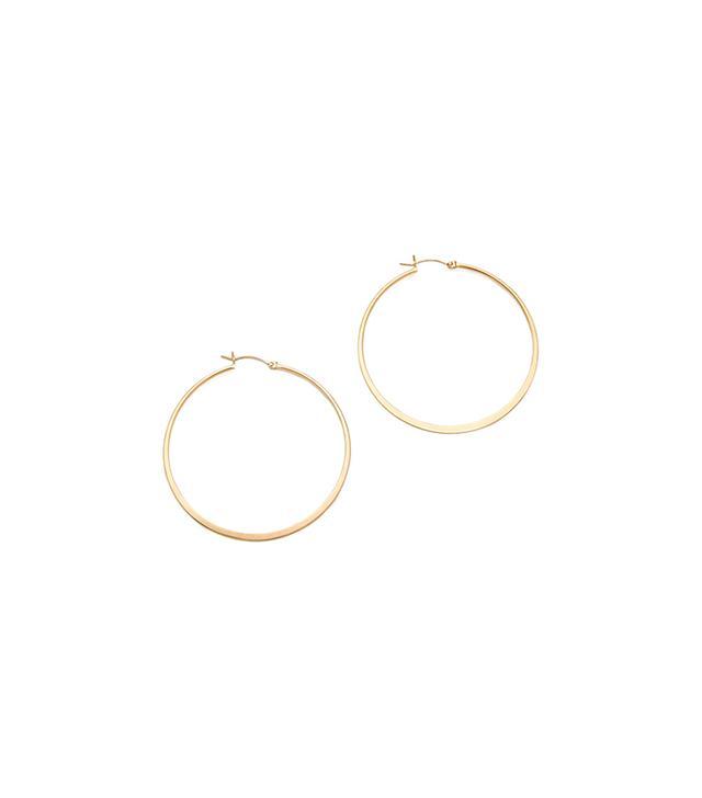 Jennifer Zeuner Jewellery Small Hoop Earrings