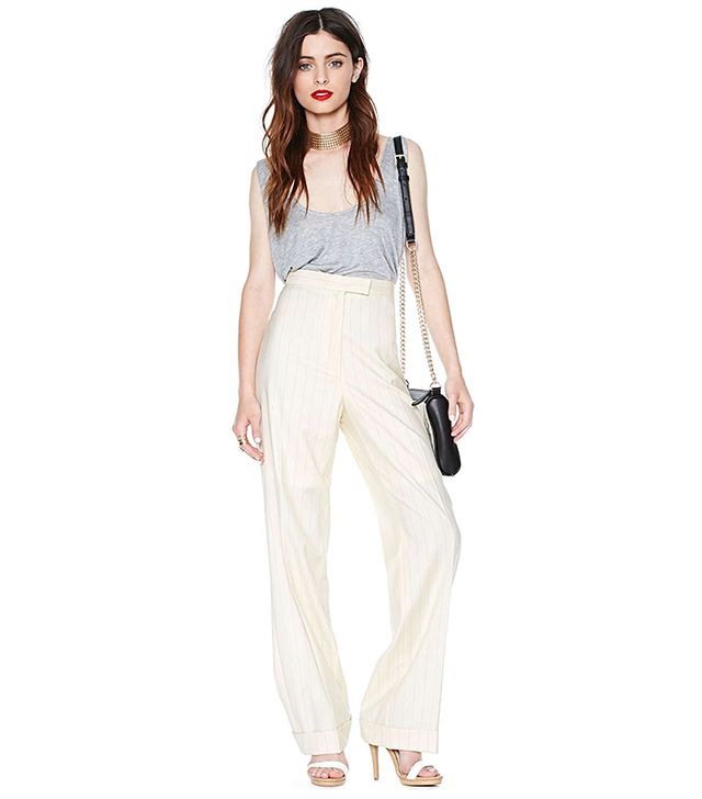 Nasty Gal Pin It Down Trouser Pant