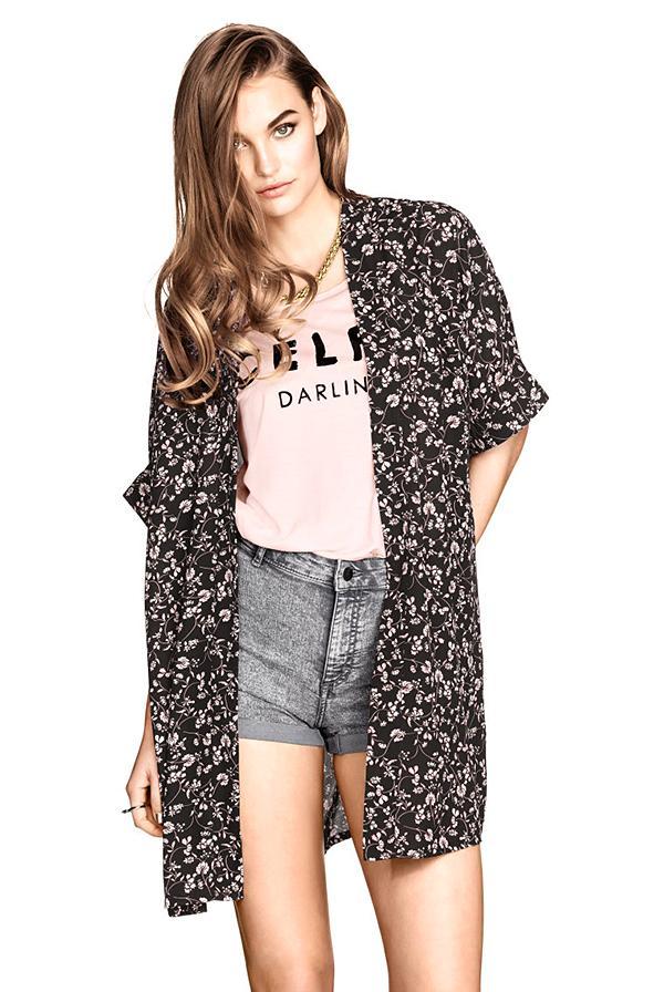 H&M Patterned Kimono