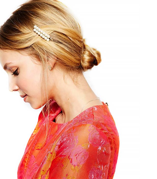 ASOS Multipack Faux Pearl Hair Slides