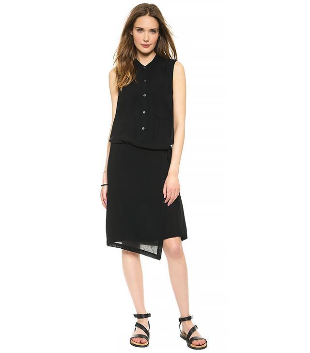 Pure DKNY Wrap Shirtdress