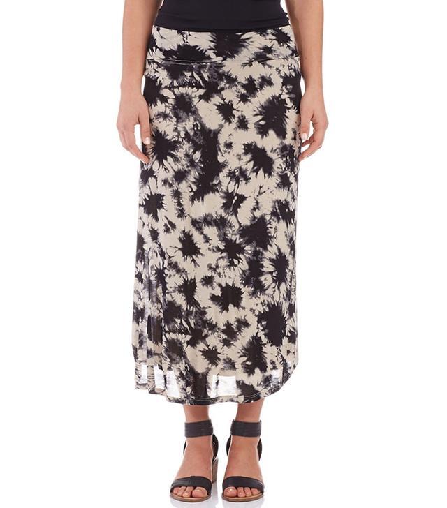 Kensie Tie-Dyed Maxi Skirt