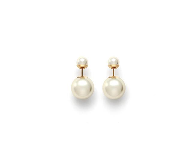 Christian Dior Mise En Dior Tribal Earrings