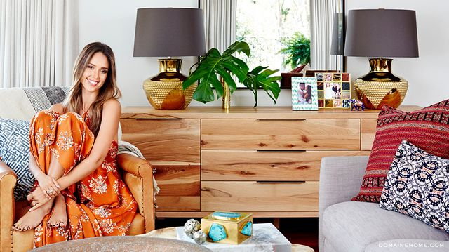 Check Out Jessica Alba's Incredibly Chic Bedroom Makeover
