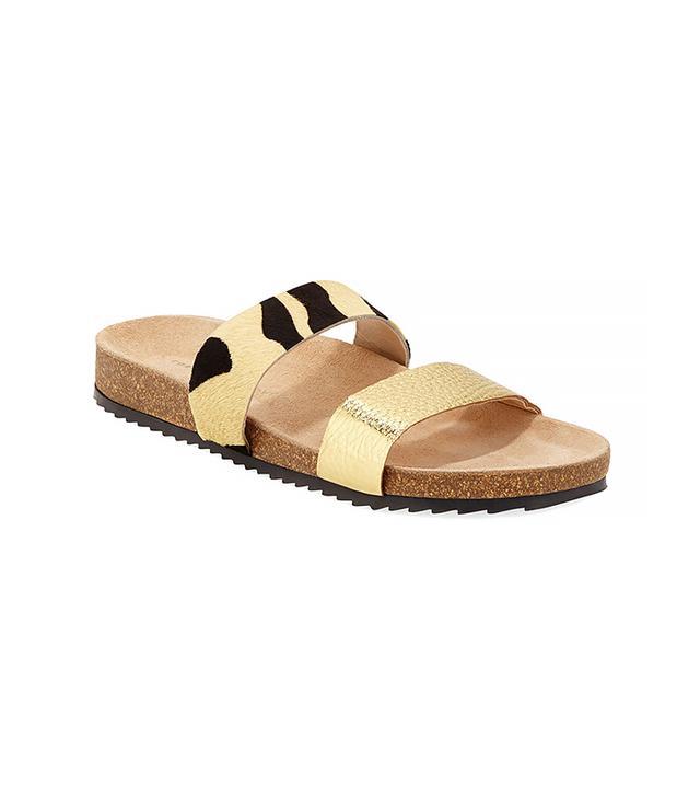 Loeffler Randall Paz Mixed Media Sandals