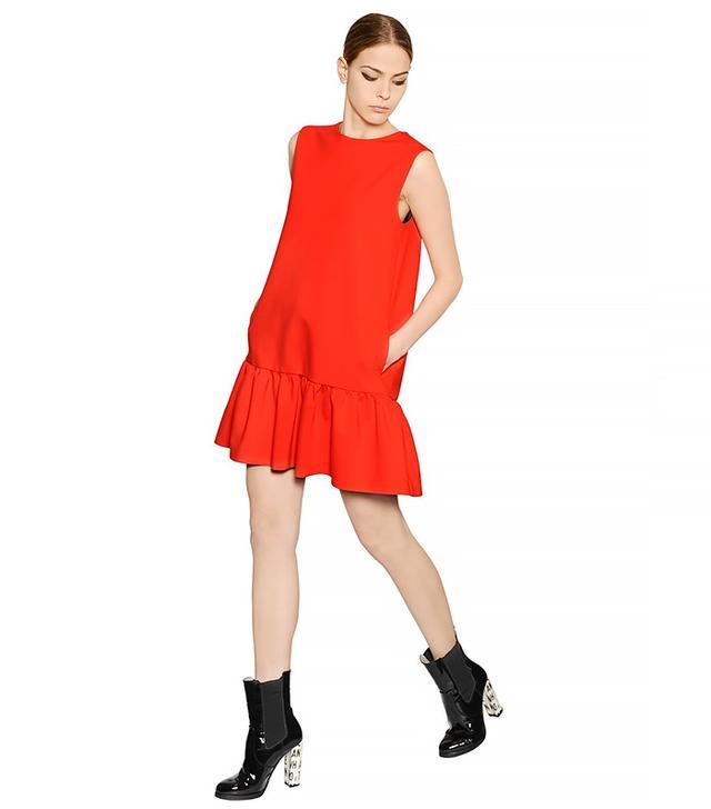 MSGM Viscose Milano Knit Dress