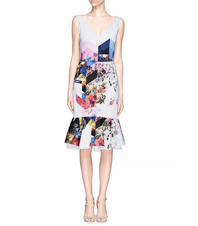 Preen by Thornton Bregazzi Morgan Floral Collage Dress