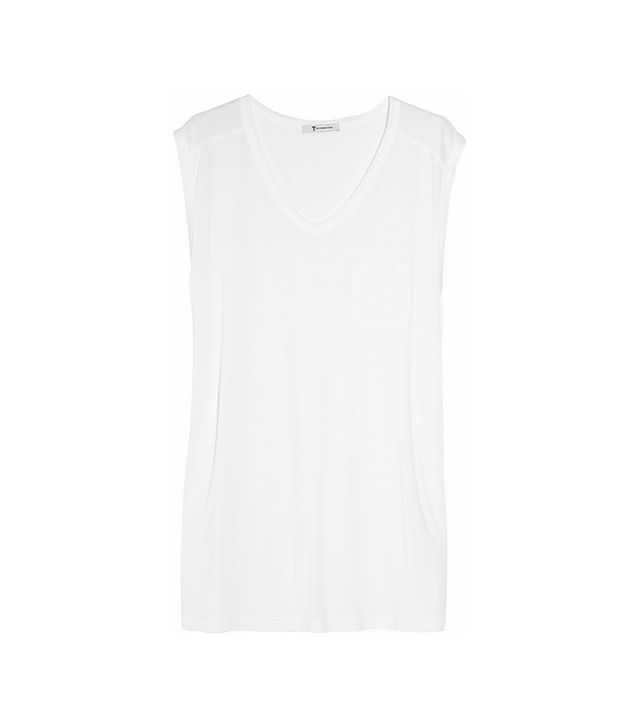 T By Alexander Wang Classic Muscle Jersey T-Shirt