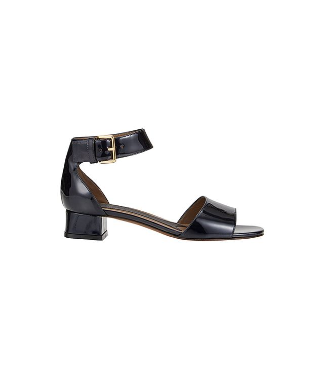 Marni Patent Ankle-Strap Sandals