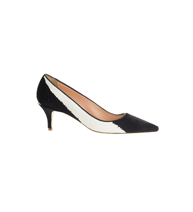 J.Crew Collection Dulci Calf Hair Kitten Heels