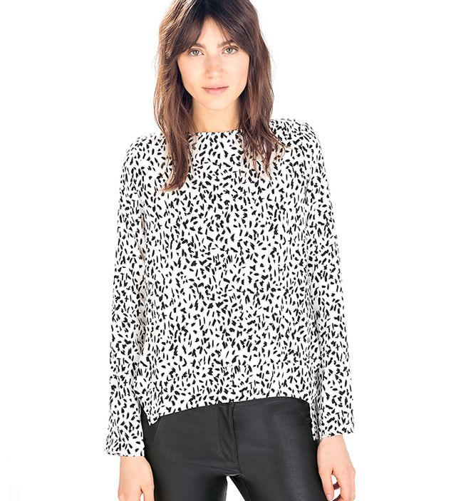 Zara Printed Top