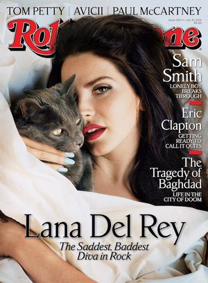 Lana Del Rey For Rollingstone