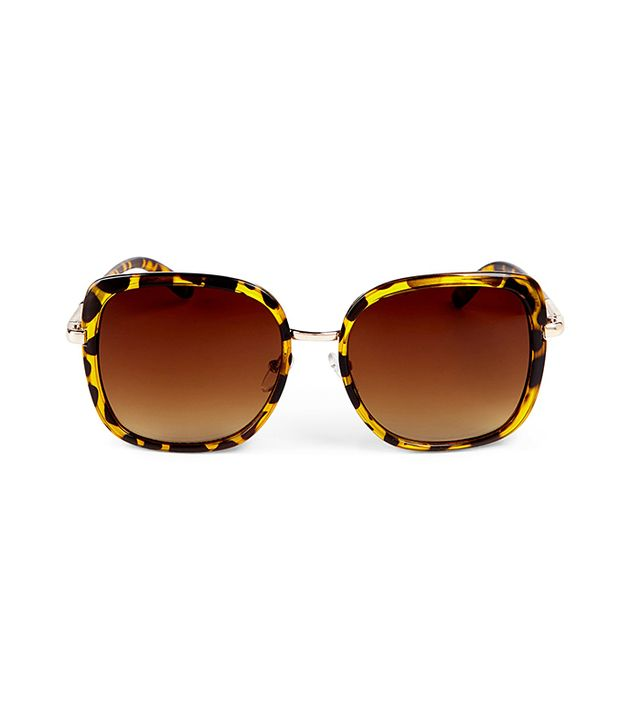 Sole Society Taya Square Oversize Sunglasses