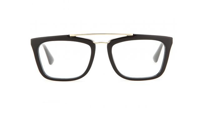 Prada Geometric-Frame Optical Glasses