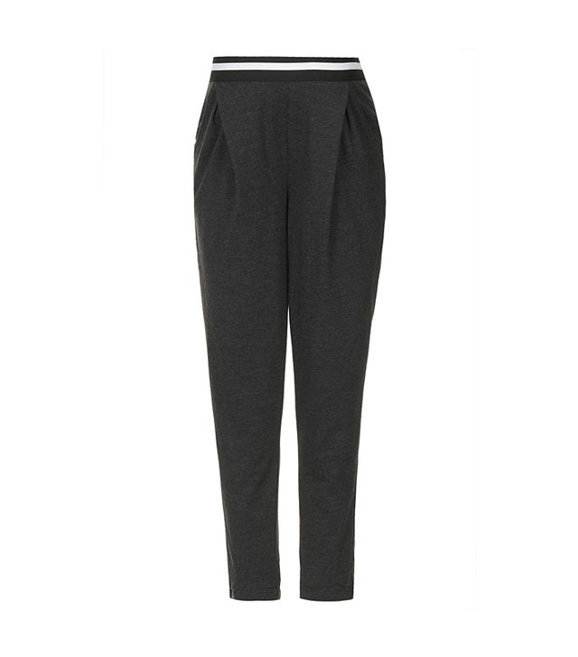Topshop Maternity Sport Rib Tapered Trousers