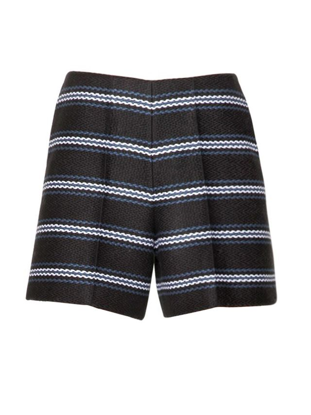 Chloé Striped Techno Canvas Shorts