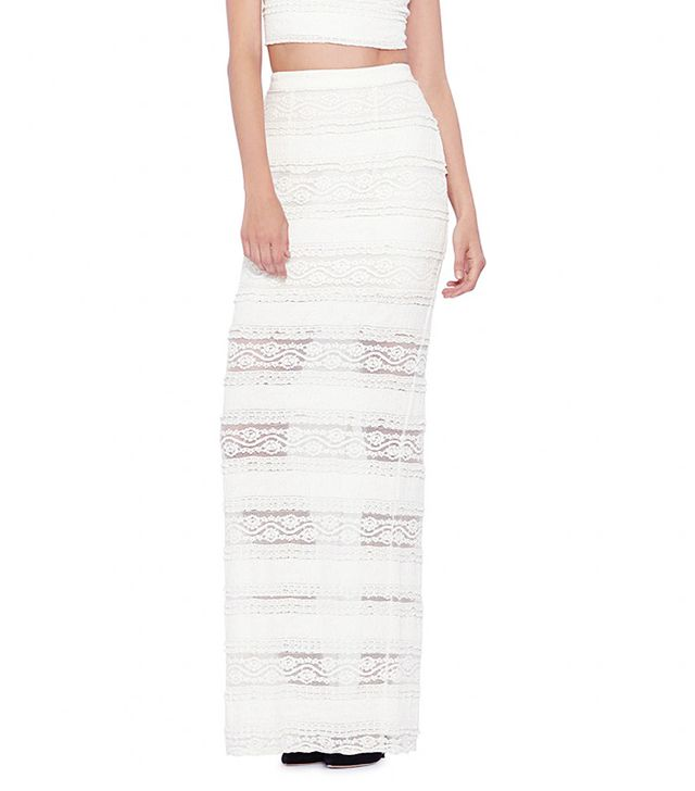 Alice + Olivia Etley Lace Maxi Skirt