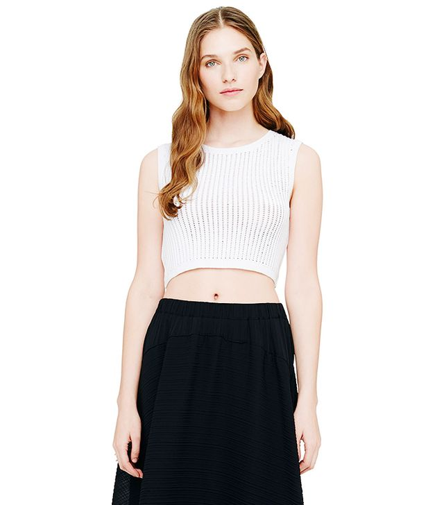 Club Monaco Annalisa Cropped Sweater