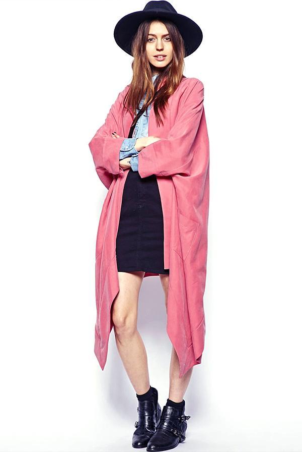 ASOS Drapey Longline Kimono