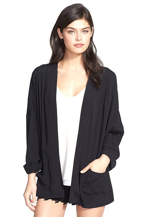 Chelsea28 Draped Kimono Jacket