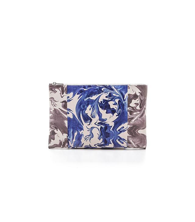 Penelope Chilvers Tie Dye Maxi Clutch